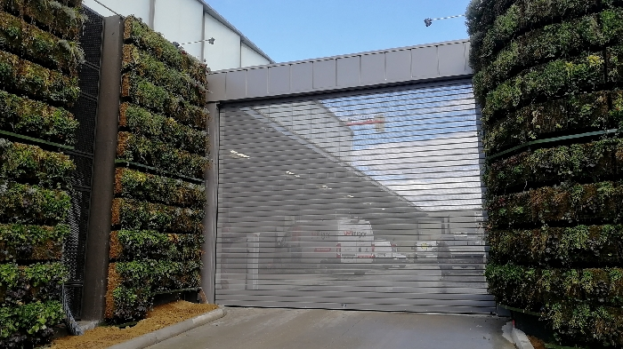 Rolling shutter for the new Rimini Trade and Exhibition Center - 2018