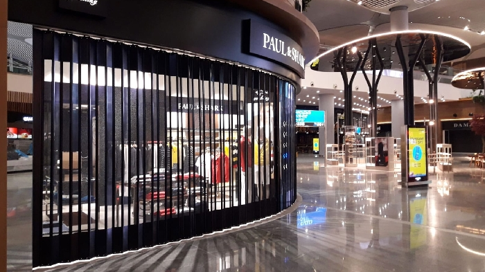 FoldingPACK® sliding closure - New Istanbul airport